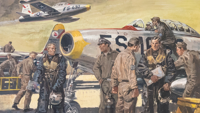 Air Force 70th Birthday Art Exhibit Opens Sept