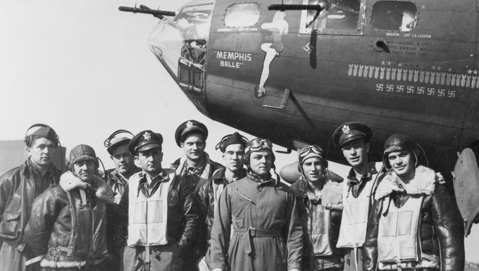 B-17F Memphis Belle™ crew overcame long odds to complete 25 missions