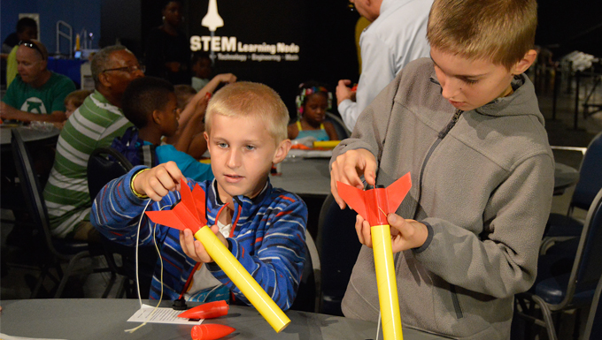 Learn About Newton in Space During Family Day at National Museum of the U.S. Air Force