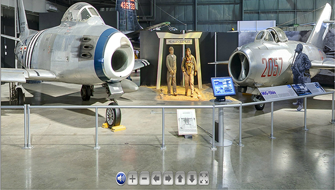 Virtual Tour of Korean War Gallery