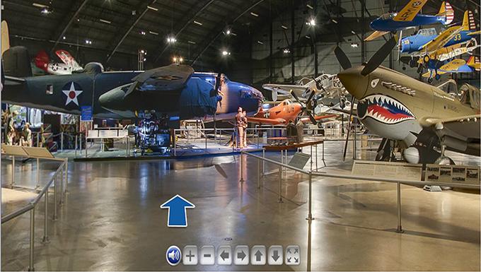 Virtual Tour of World War II Gallery