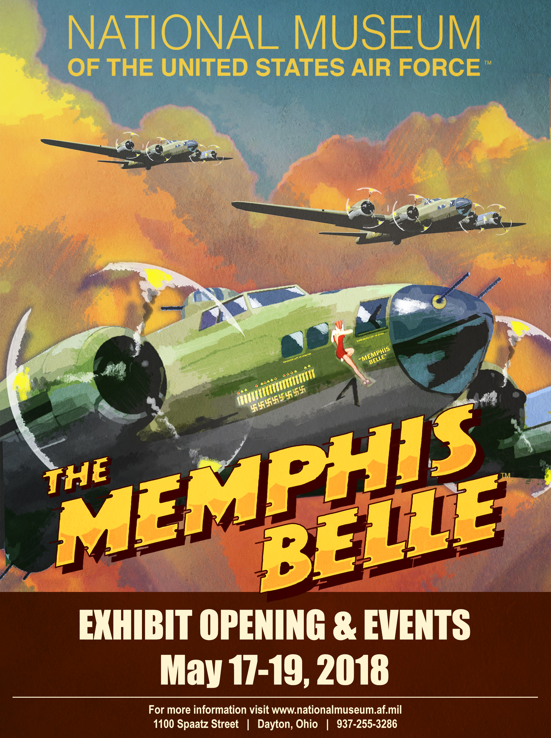 memphis belle u2122 exhibit may 2018